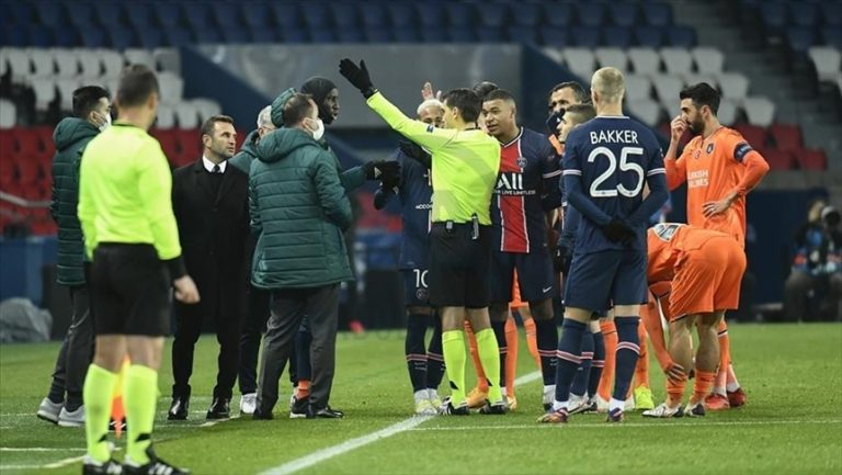 PSG-Basaksehir match suspended amid alleged racism