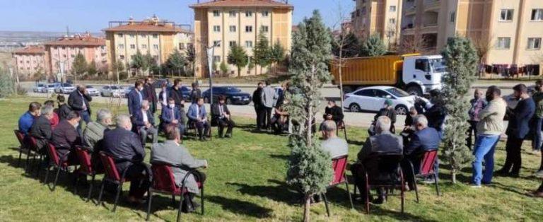 AK Parti Batman İl Başkanı Gür mahalle buluşmalarına devam ediyor